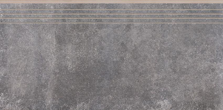 Montego Antracyt 0093 Ступень прямая структурная 39,7х79,7 (Рект)
